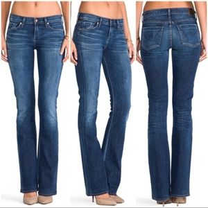 •COH• Distressed Kelly Bootcut Low-rise Jeans
